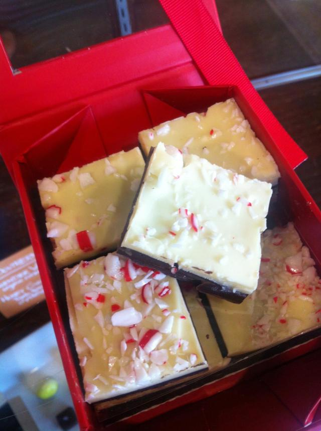 Peppermint bark is back!